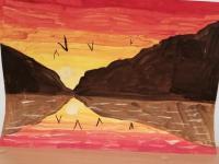 Выставка рисунков «Мир вокруг нас»