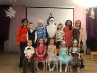 В детском саду состоялись новогодние утренники!